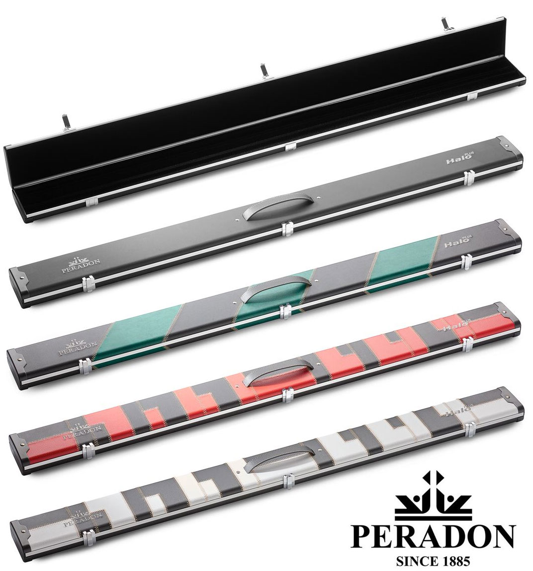 3/4 Peradon Halo Plus cue case (extra wide)