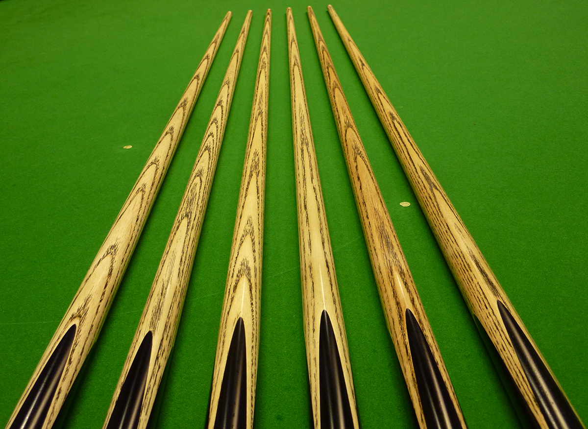 "Length 52/"" A-C Pool Cue 2pc Baize Master Junior Snooker Cue"