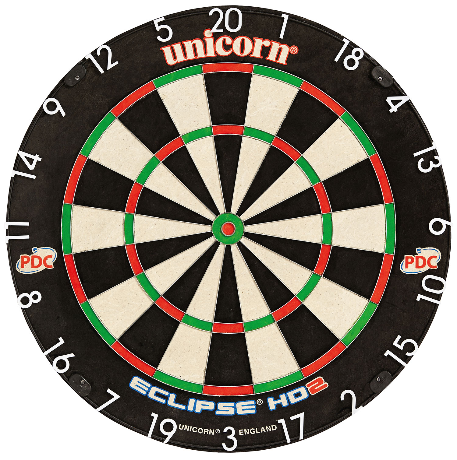 UNICORN ECLIPSE HD2 PRO DARTBOARD - WITH UNILOCK