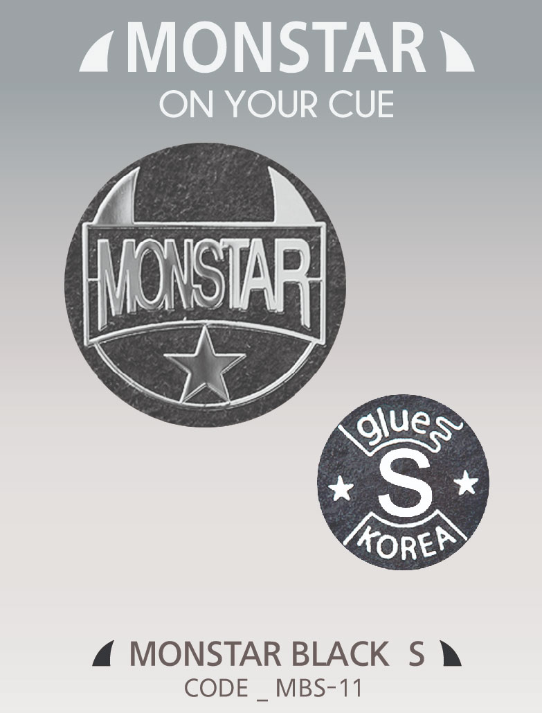 Monstar Tip Black - 11mm Soft