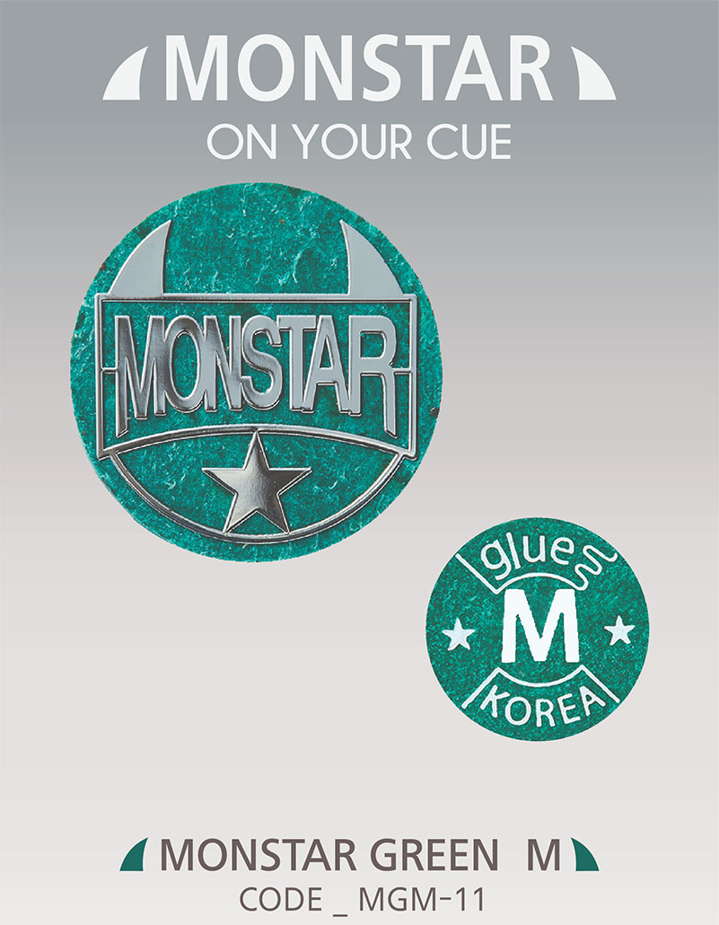 Monstar Tip Green - 11mm Medium