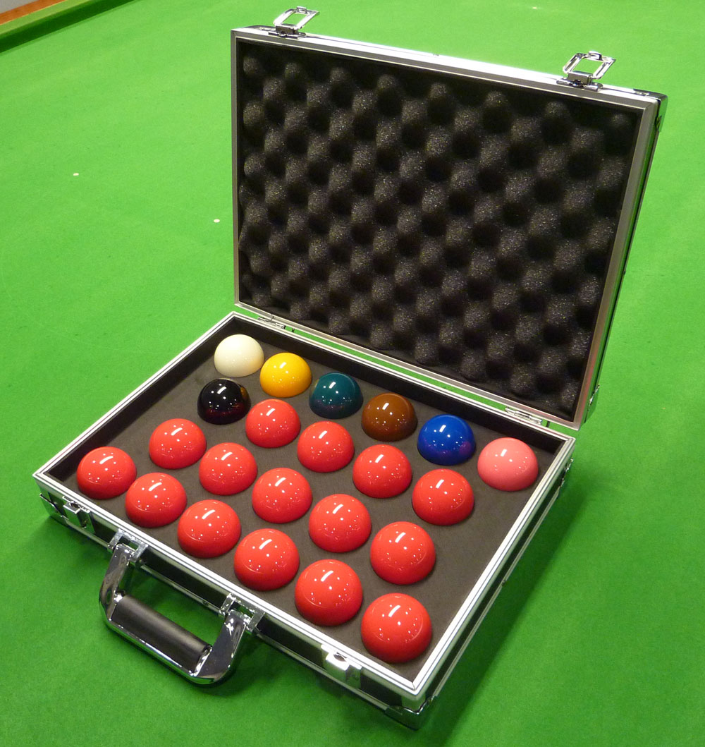 Aramith 3g Tournament Champion Snooker Balls Amp Aluminium Case