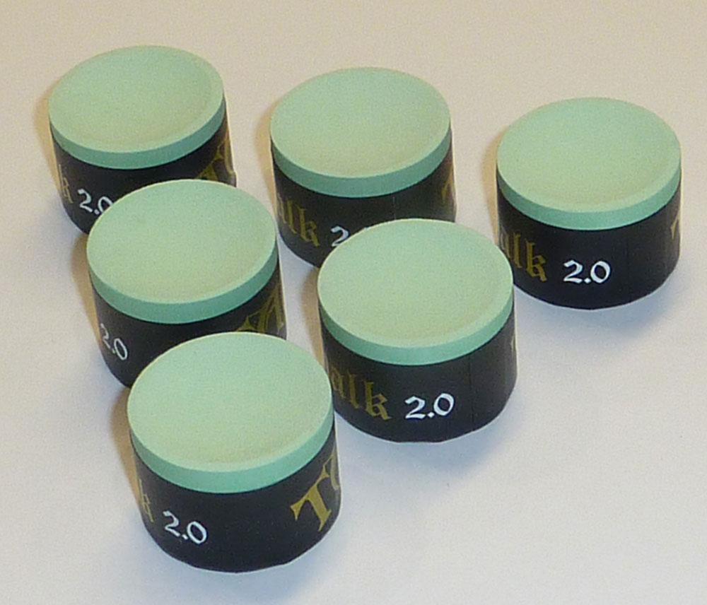 Taom chalk billiard 2 0 green 1 piece