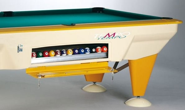 Sam Tempo Garden Pool Table 7ft Free Play