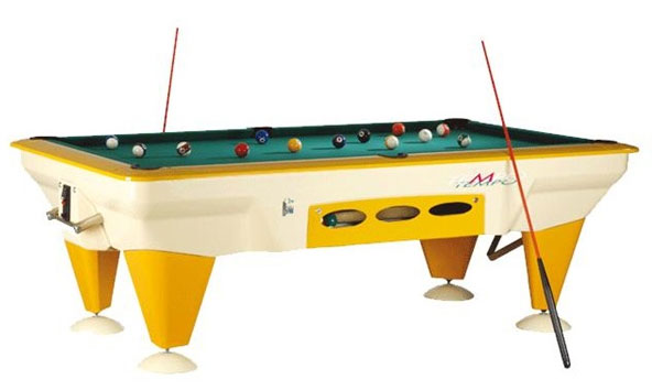 Sam Tempo Outdoor Pool Table Ft Coinoperated - United billiards pool table coin operated