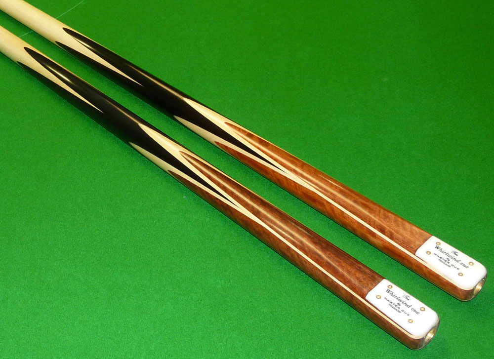 1pc Whirlwind Master cue hand spliced cue with Maple shaft